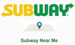 Subway Near Me